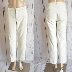Banana Republic Ryan Cream Trouser